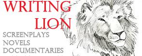 Writing Lion