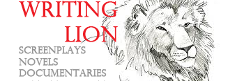 Writing Lion